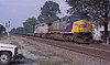 CSX 697 + GEFX 3073 Doswell 3 October 2002