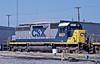 CSX 8421 Hamlet 6 October 2002