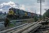 CSX 8537 + 8827 + CN 9541 + 9603 Dalton 27 September 1999