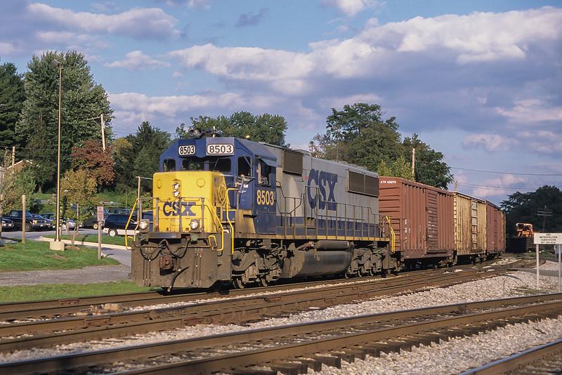 CSX 8503 Point of Rocks 6 October 1999
