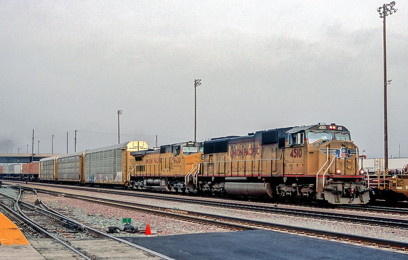 UP 4510 + 9630 San Bernadino 22 March 2005