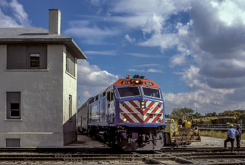 METRA 214 Joliet 13 October 1994