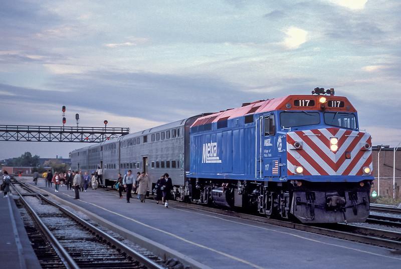 METRA 117 Joliet 13 October 1994