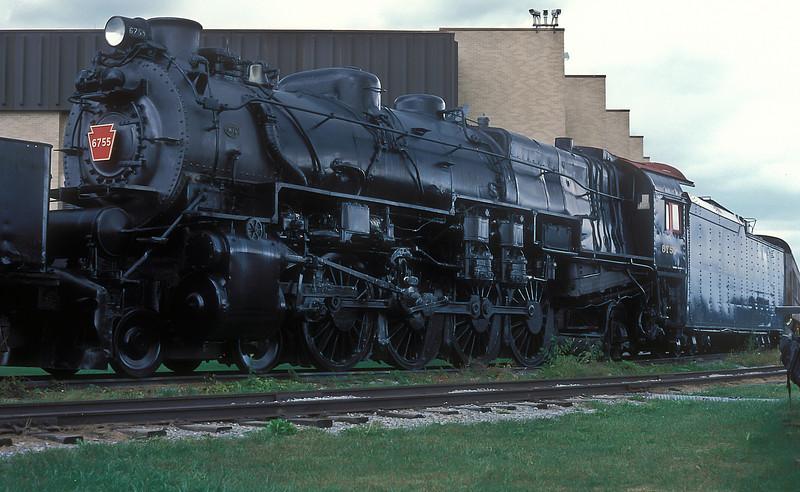 PRR 6755 Pennsylvania Railroad Museum, Strasburg 29 September 1994