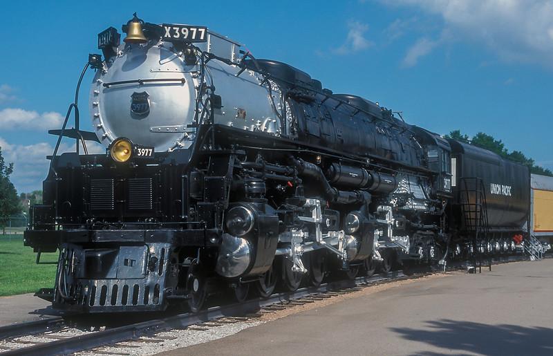 UP 3977 North Platte 11 July 1998