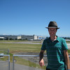 Valerie decided I needed a Stetson - its first outing.