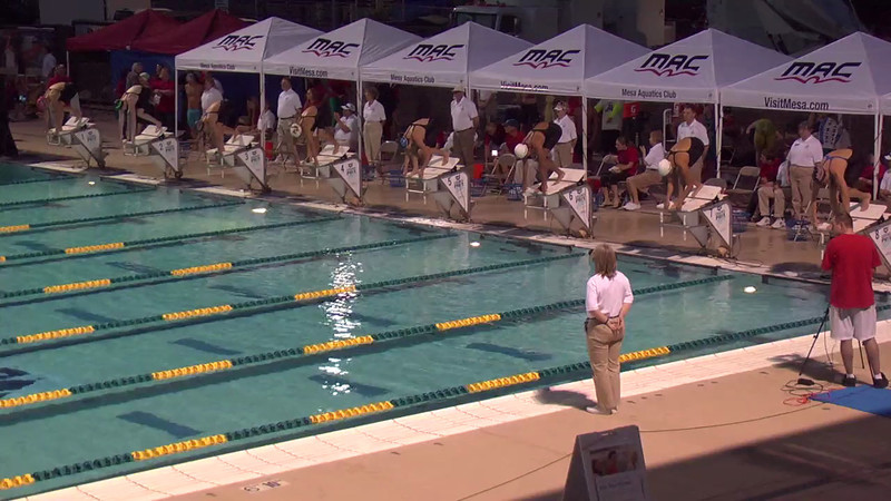 Women's 100m Butterfly C Final - 2013 Arena Mesa Grand Prix