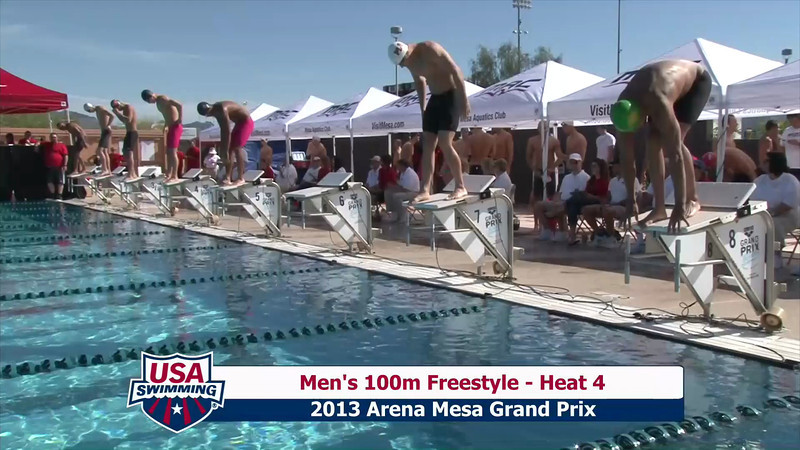Men's 100m Freestyle Heat 3 - 2013 Arena Mesa Grand Prix