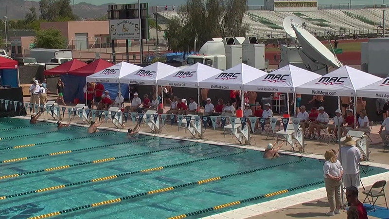 Men's 200m Backstroke Heat 3 - 2013 Arena Mesa Grand Prix