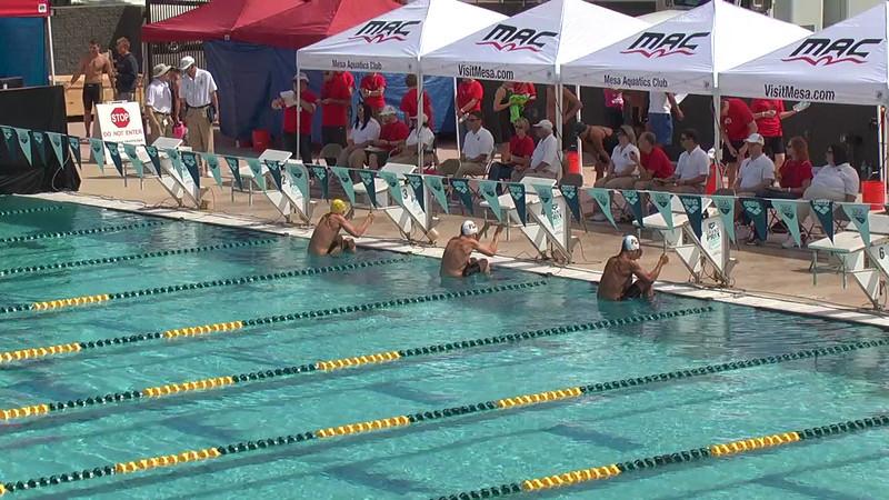 Men's 200m Backstroke Heat 1 - 2013 Arena Mesa Grand Prix