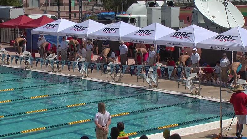 Men's 100m Butterfly Heat 5 - 2013 Arena Mesa Grand Prix