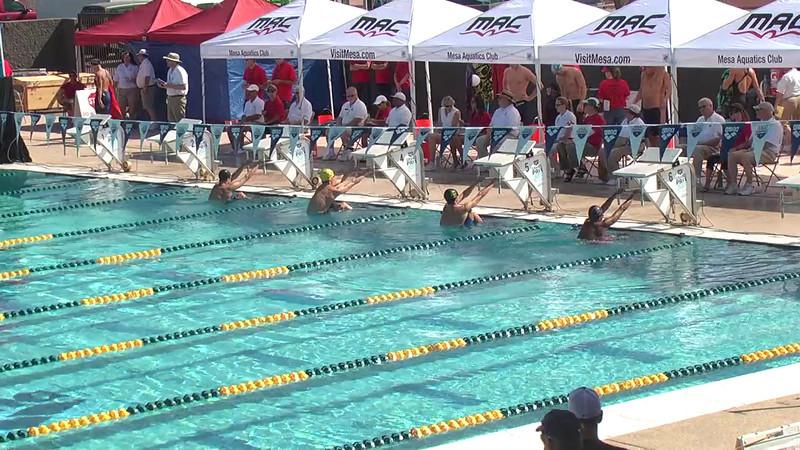Men's 100m Backstroke Heat 1 - 2013 Arena Mesa Grand Prix