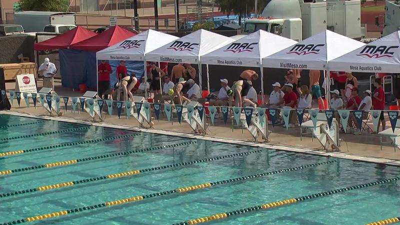 Women's 200m Freestyle Heat 1 - 2013 Arena Mesa Grand Prix