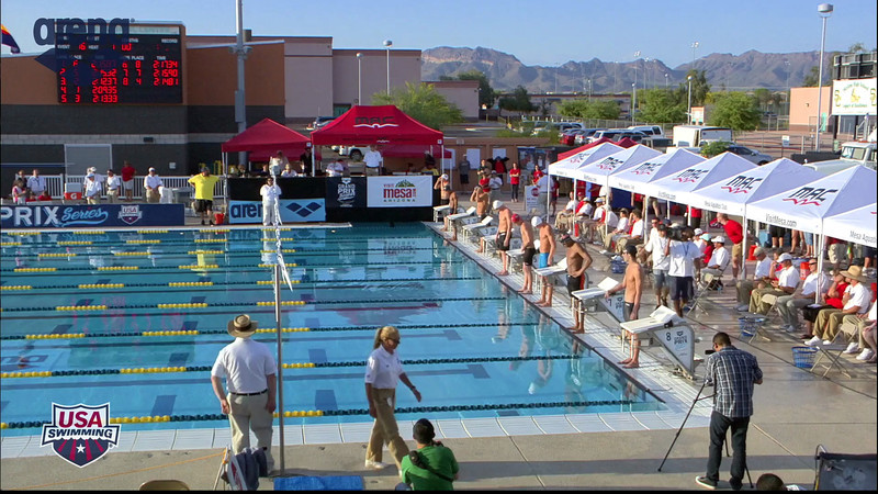 Men's 200m Backstroke B Final - 2013 Arena Mesa Grand Prix