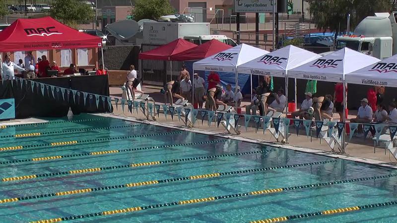 Women's 400m Freestyle Heat 3 - 2013 Arena Mesa Grand Prix