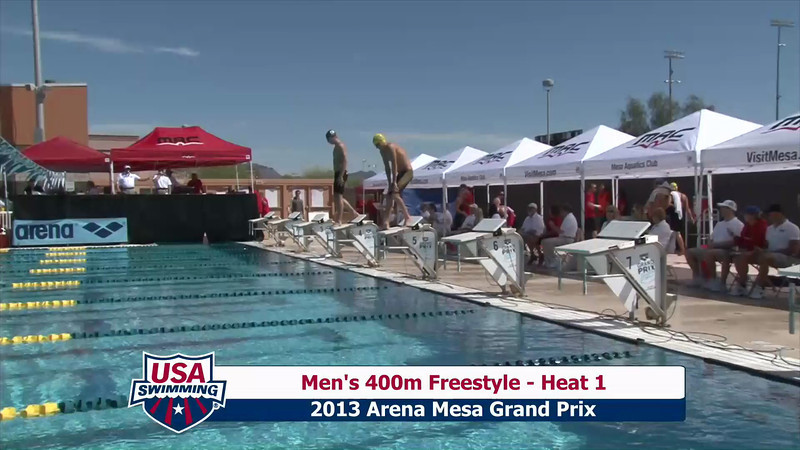 Men's 400m Freestyle Heat 1 - 2013 Arena Mesa Grand Prix
