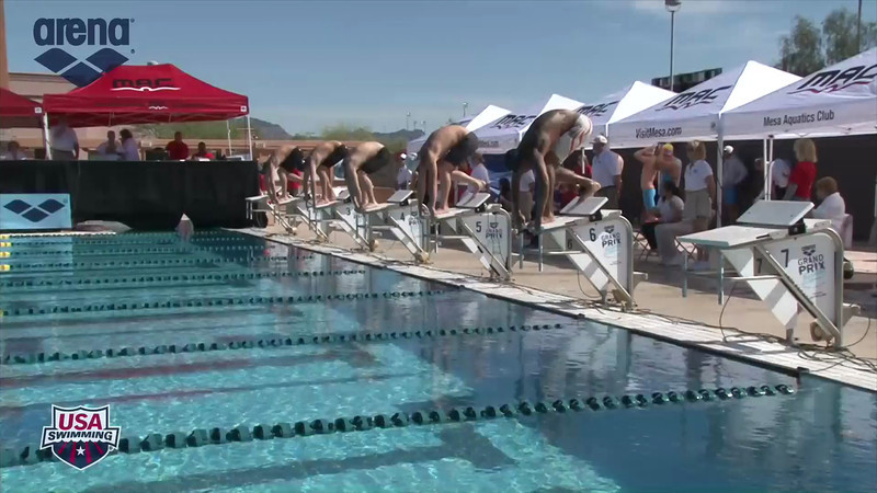 Men's 200m Breaststroke Heat 1 - 2013 Arena Mesa Grand Prix