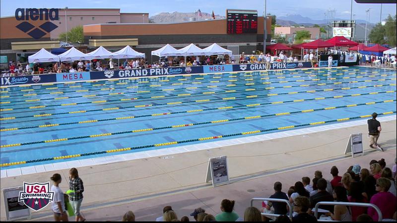 Women's 400m Individual Medley A Final - 2013 Arena Mesa Grand Prix