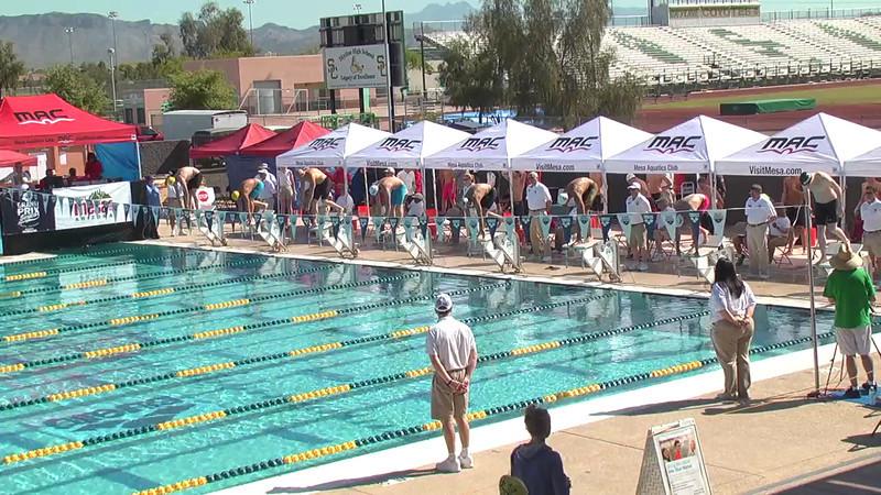 Men's 100m Breaststroke Heat 2 - 2013 Arena Mesa Grand Prix