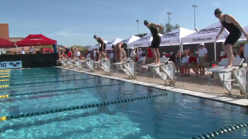 Women's 400m Individual Medley Heat 2 - 2013 Arena Mesa Grand Prix
