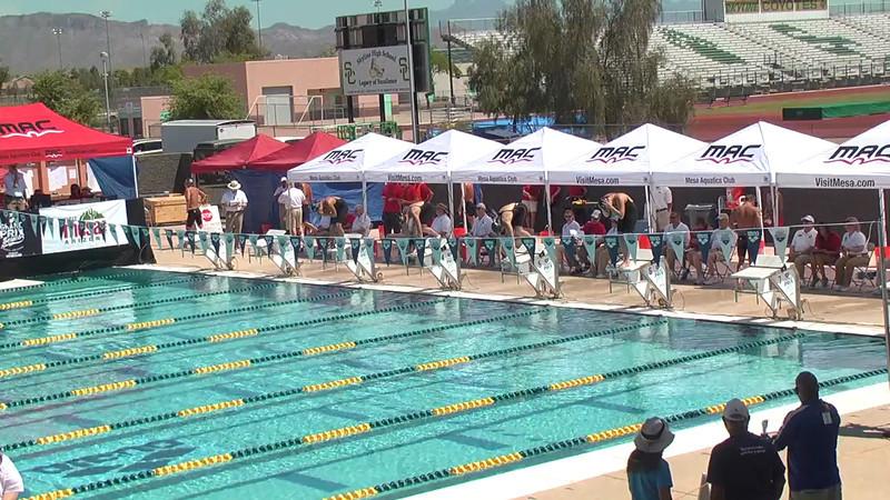 Women's 800m Freestyle Heat 3 - 2013 Arena Mesa Grand Prix
