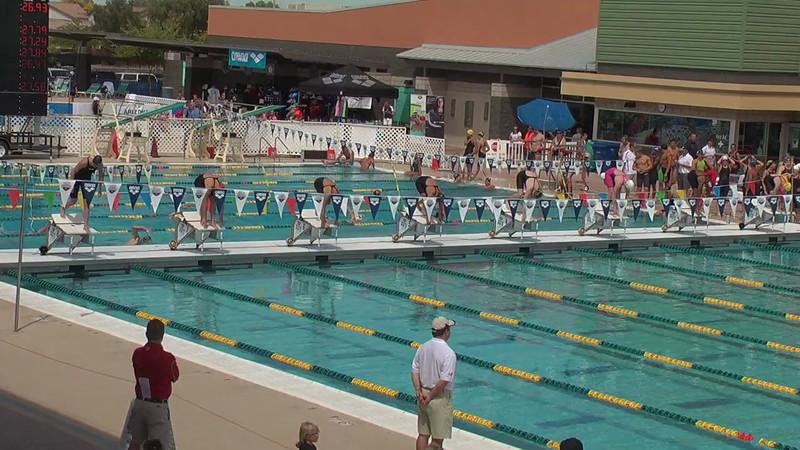Women's 50m Freestyle Heat 5 - 2013 Arena Mesa Grand Prix