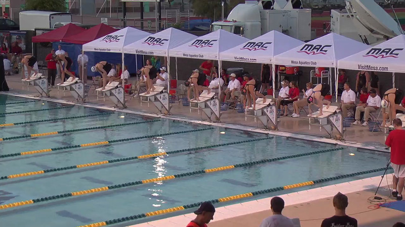 Women's 400m Freestyle D Final - 2013 Arena Mesa Grand Prix