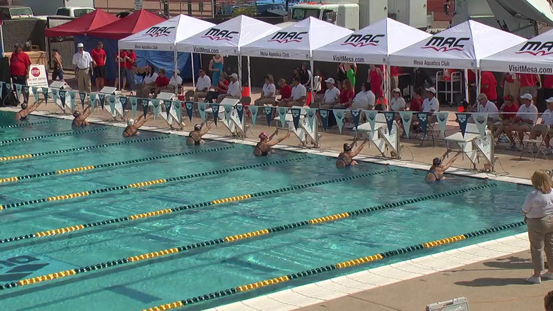 Women's 200m Backstroke Heat 2 - 2013 Arena Mesa Grand Prix