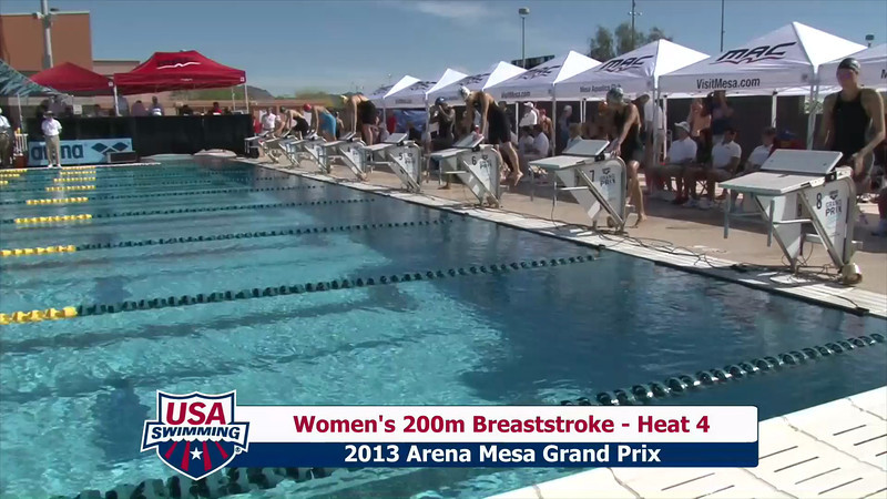 Women's 200m Breaststroke Heat 4 - 2013 Arena Mesa Grand Prix