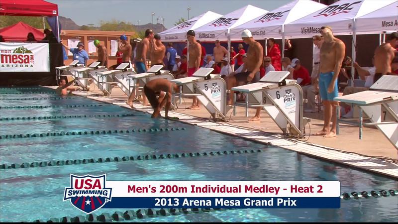 Men's 200m Individual Medley Heat 2 - 2013 Arena Mesa Grand Prix