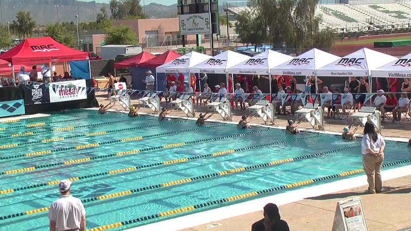 Women's 100m Backstroke Heat 2 - 2013 Arena Mesa Grand Prix