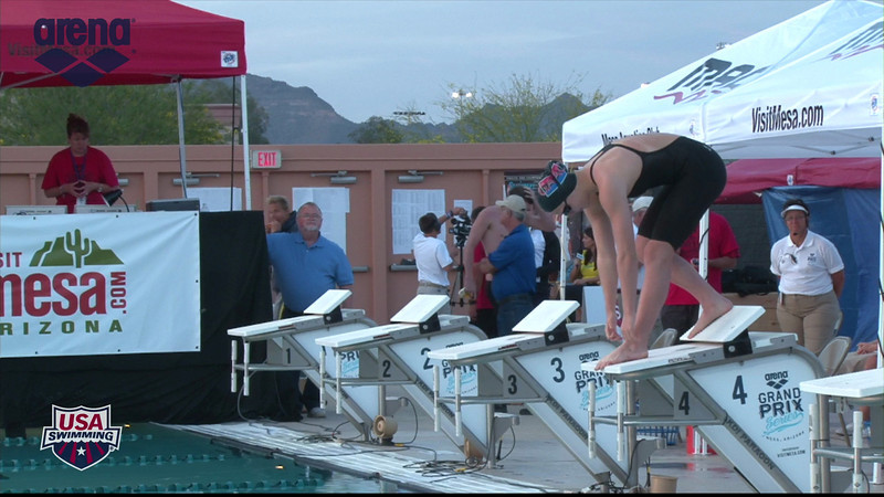 Woen's 100m Breaststroke D Final - 2013 Arena Mesa Grand Prix