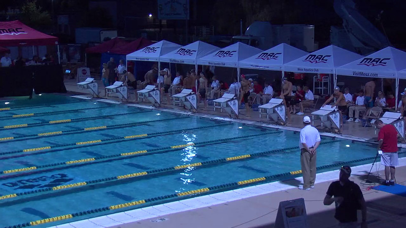 Men's 100m Butterfly C Final - 2013 Arena Mesa Grand Prix