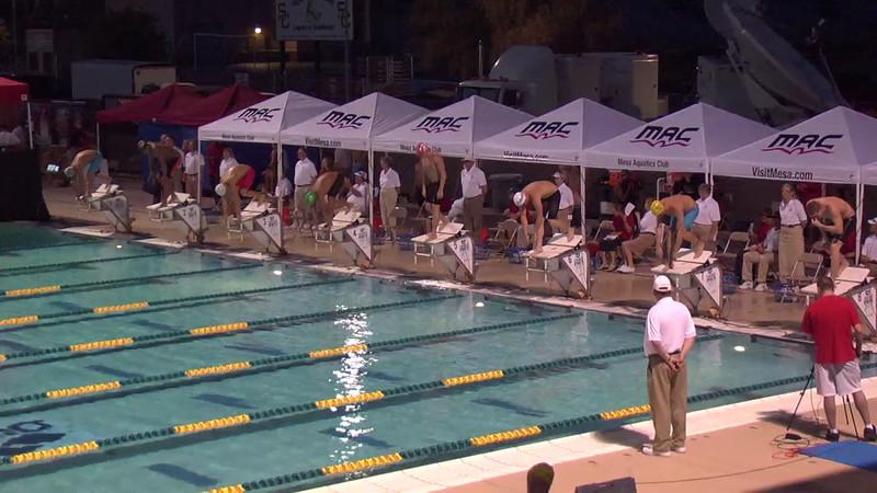 Men's 100m Butterfly D Final - 2013 Arena Mesa Grand Prix