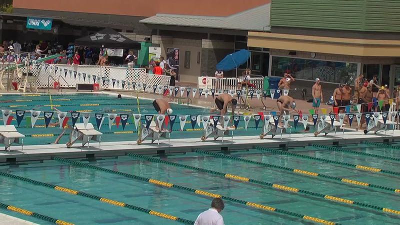Men's 50m Freestyle Heat 1 - 2013 Arena Mesa Grand Prix