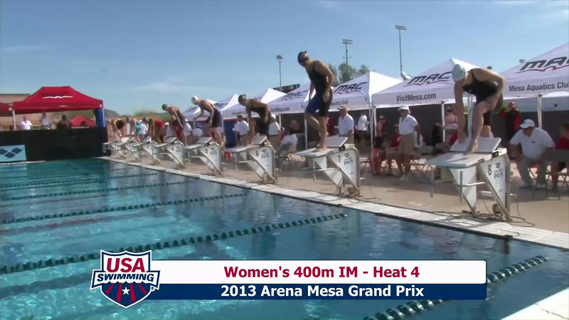 Women's 400m Individual Medley Heat 4 - 2013 Arena Mesa Grand Prix