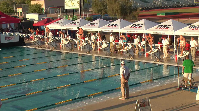 Men's 200m Individual Medley A Final - 2013 Arena Mesa Grand Prix