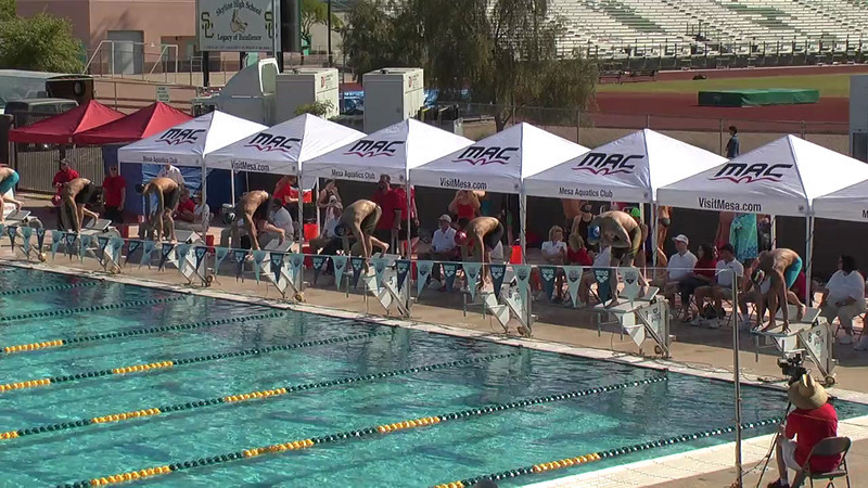 Men's 100m Freestyle Heat 7 - 2013 Arena Mesa Grand Prix
