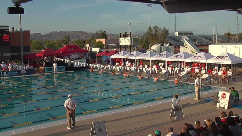 Men's 200m Backstroke A Final - 2013 Arena Mesa Grand Prix