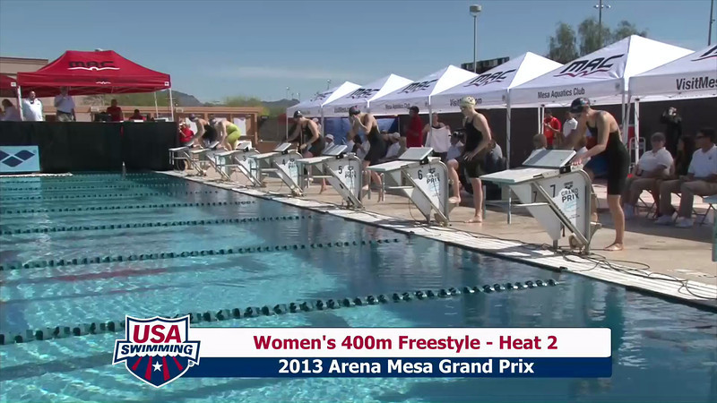 Women's 400m Freestyle Heat 2 - 2013 Arena Mesa Grand Prix
