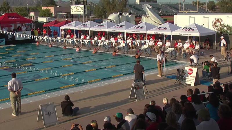 Women's 200m Backstroke A Final - 2013 Arena Mesa Grand Prix