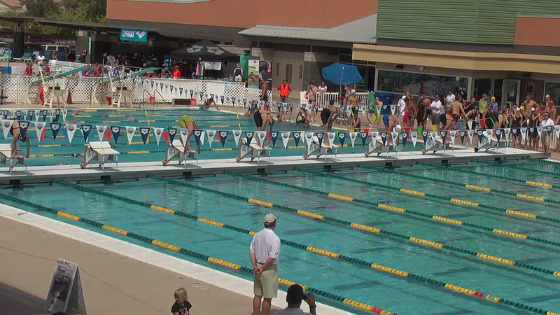 Women's 50m Freestyle Heat 6 - 2013 Arena Mesa Grand Prix