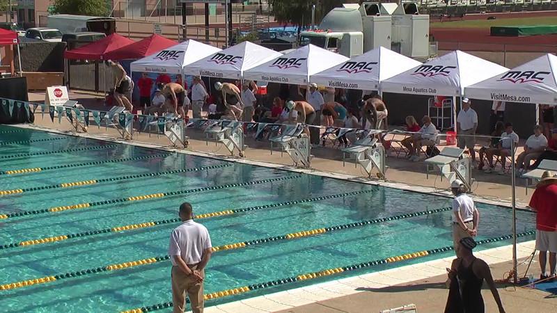 Men's 200m Breaststroke Heat 1 - 2013 Arena Mesa Grand Prix