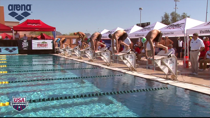 Men's 200m Butterfly Heat 1 - 2013 Arena Mesa Grand Prix