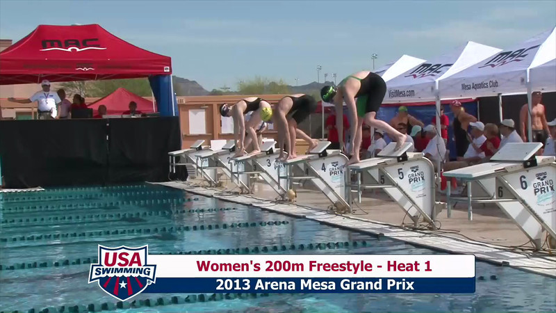 Women's 200m Freestyle Heat 1 - 2013 Arena Mesa Grand Prix