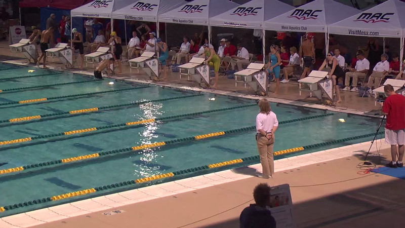 Women's 100m Butterfly D Final - 2013 Arena Mesa Grand Prix