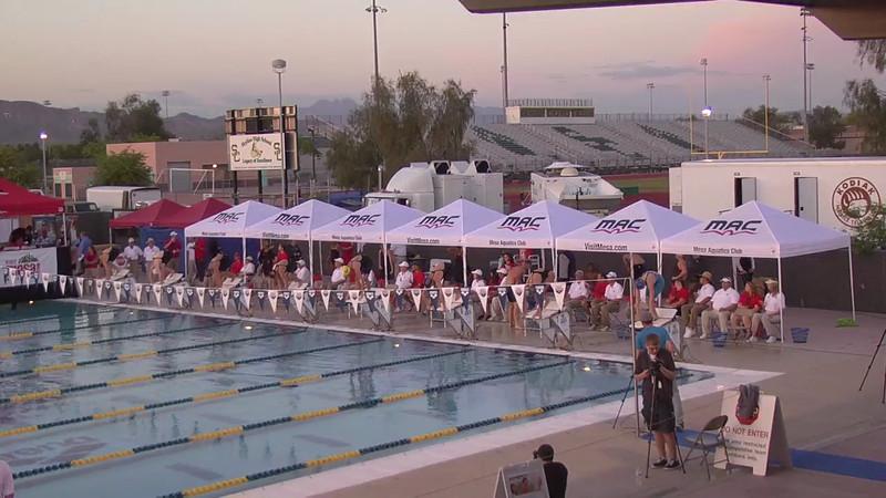 Women's 200m Freestyle D Final - 2013 Arena Mesa Grand Prix