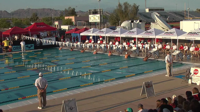 Men's 200m Backstroke B Final - 2013 Arena Mesa Grand Prix