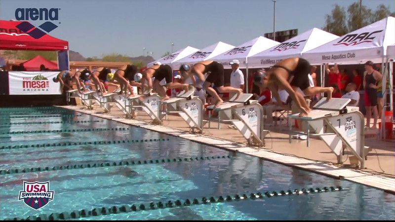 Women's 200m Individual Medley Heat 6 - 2013 Arena Mesa Grand Prix