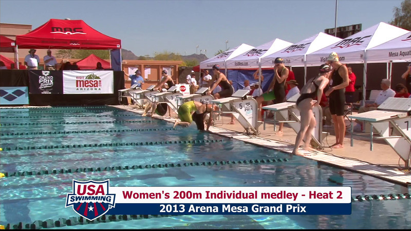 Women's 200m Individual Medley Heat 2 - 2013 Arena Mesa Grand Prix